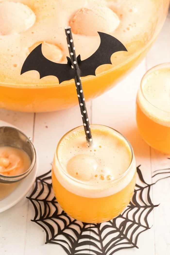 Halloween Sherbet Punch