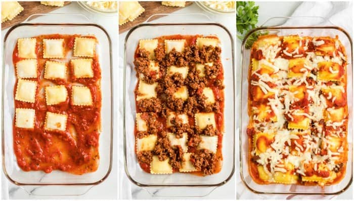 How to Make Ravioli Lasagna
