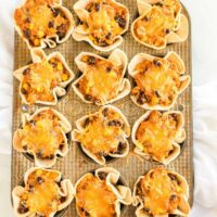 Mini Enchilada Cups square