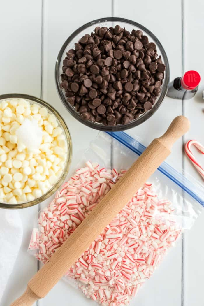 peppermint bark ingredients