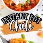Pinterest 600 x 1200 - instant pot chili