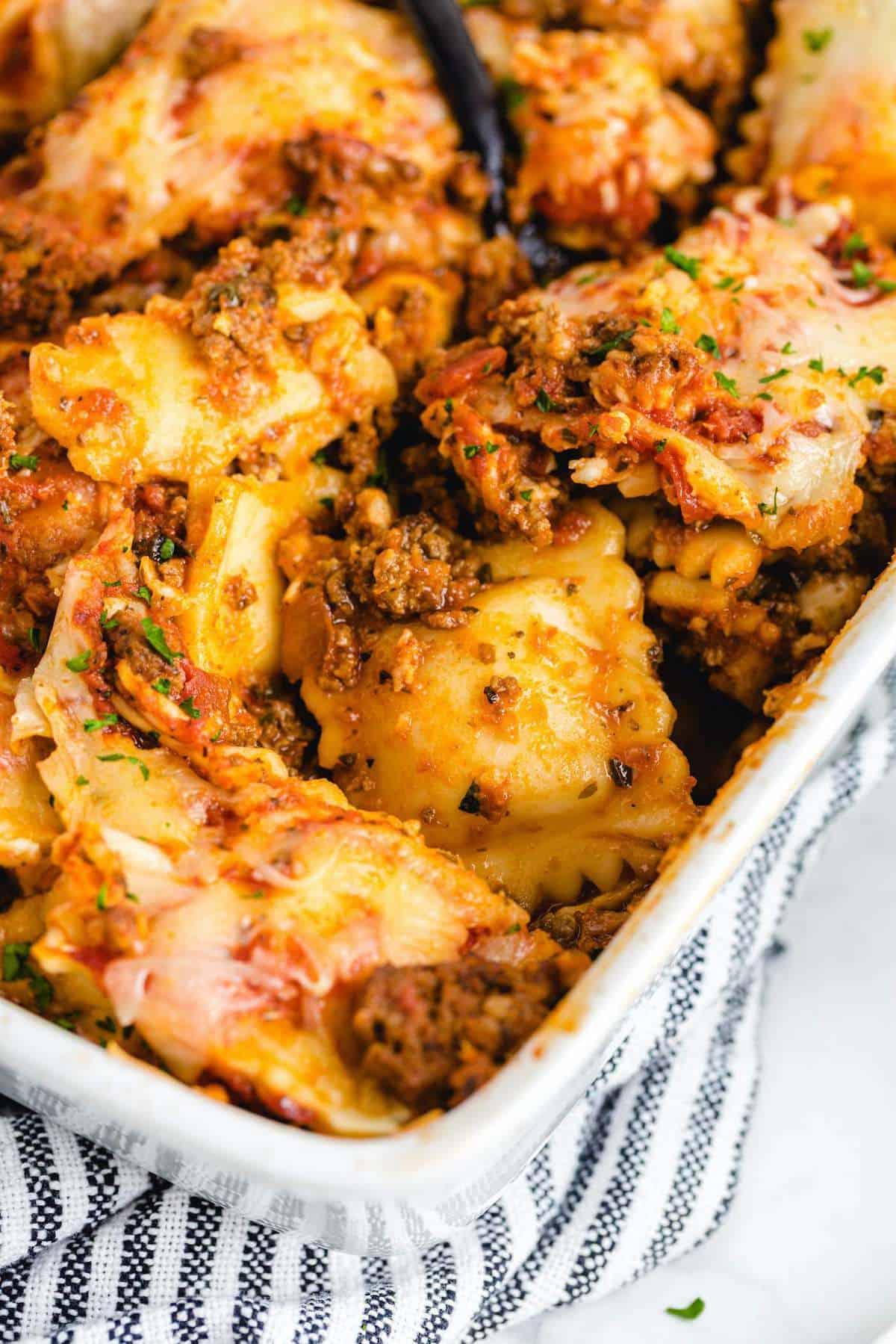ravioli lasagna hero image