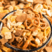Slow Cooker Chex Mix Party Mix recipe featured image