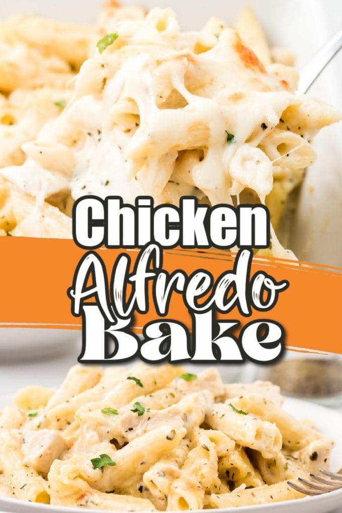chicken alfredo bake pintrest