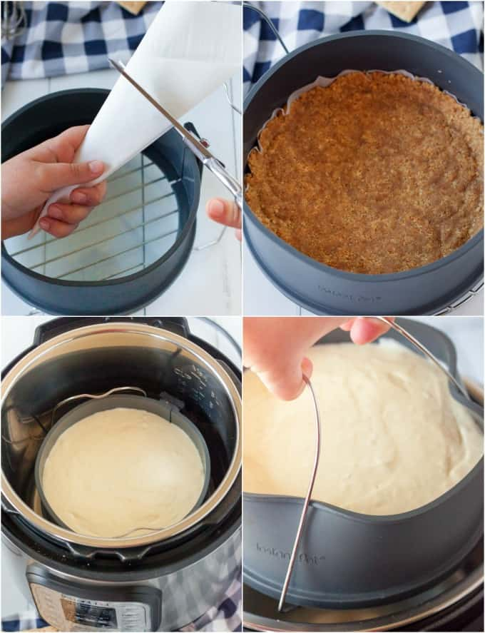 How to make Instant Pot Cheesecake
