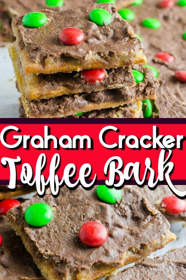Graham Cracker Toffee Bark