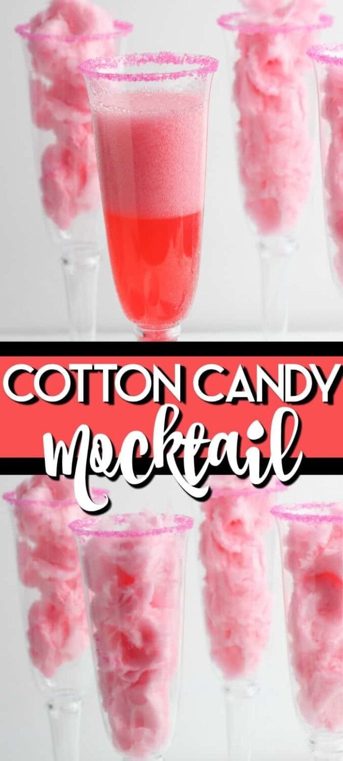 Cotton Candy Mocktail Recipe