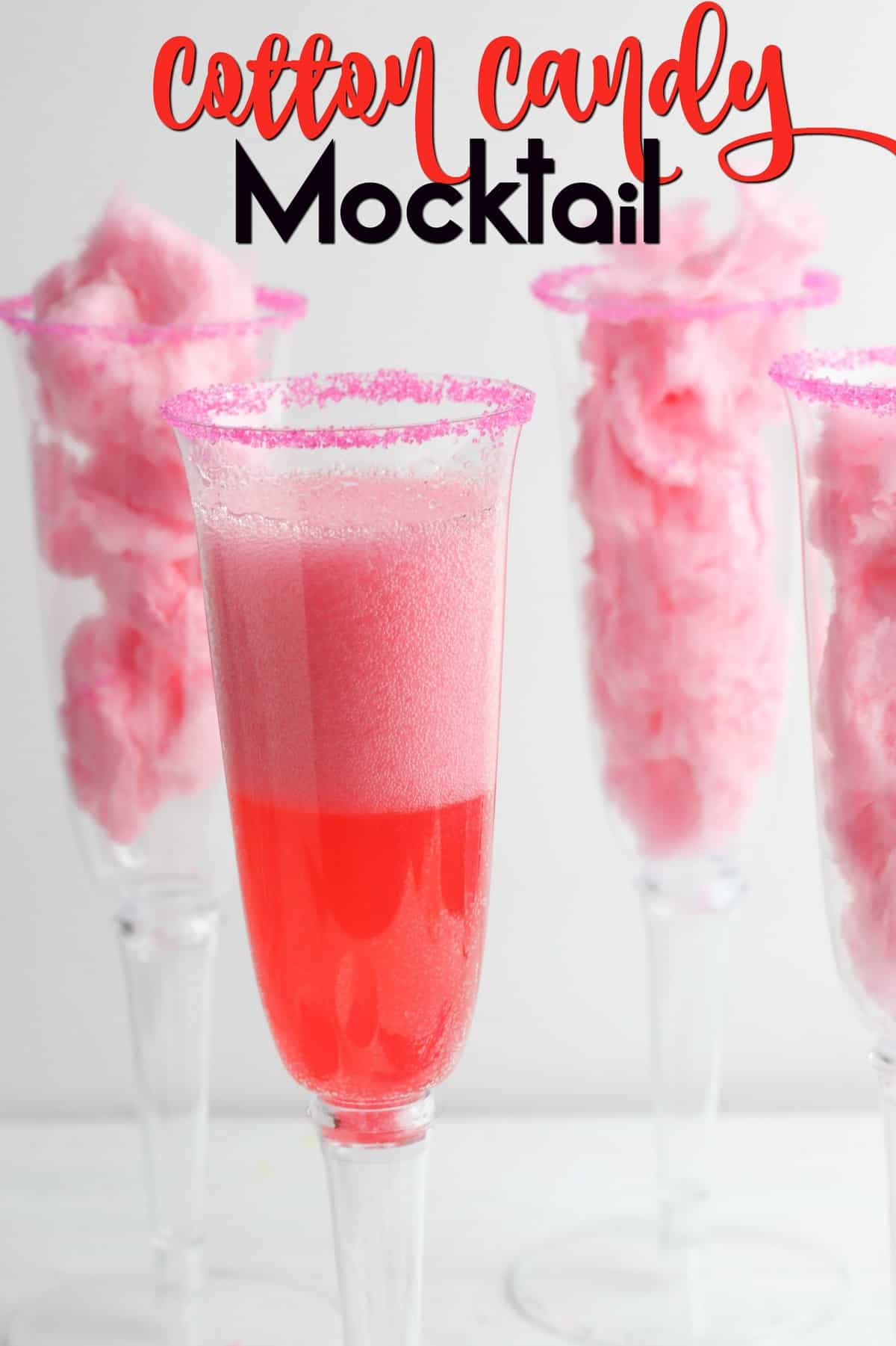 Cotton Candy Mocktail