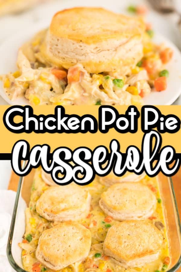Pinterest image for pot pie