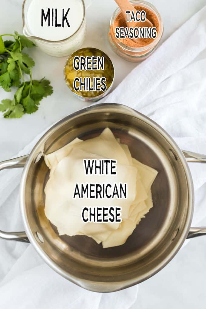 White Queso Dip Ingredients