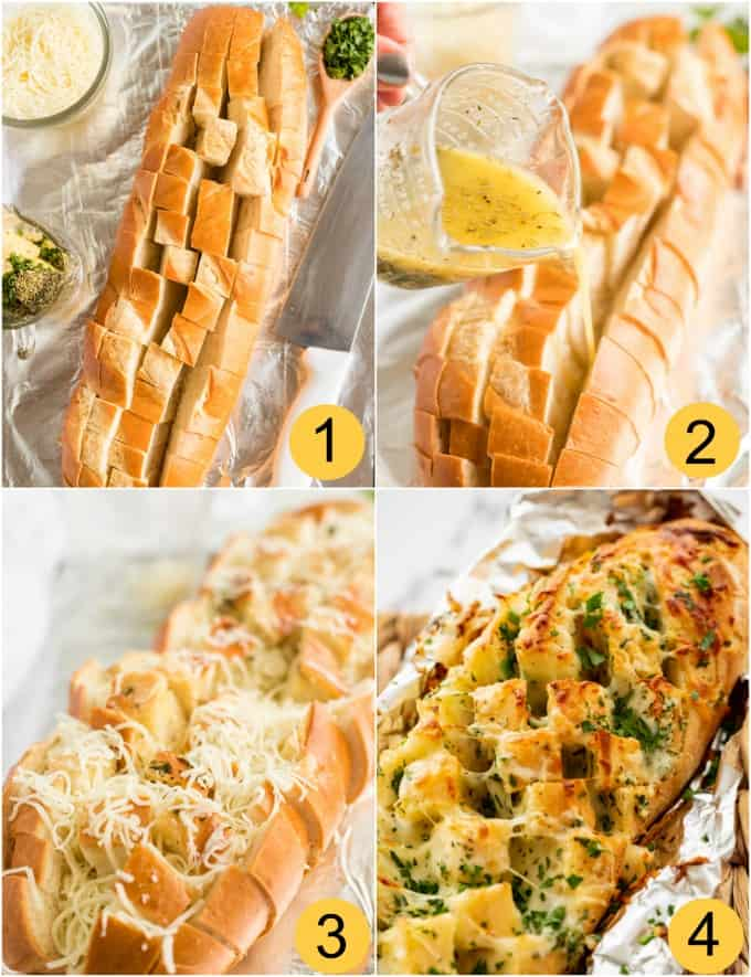 How to make Cheesy Garlic Pull-Apart Bread