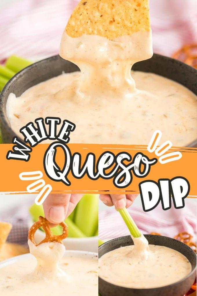 White queso dip pinterest