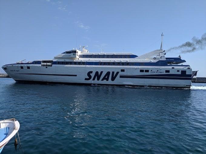 ferry to get around Amalfi Coast