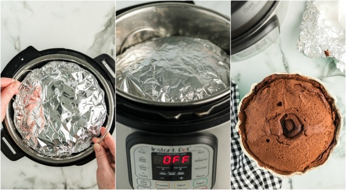 how to make an instant pot cake