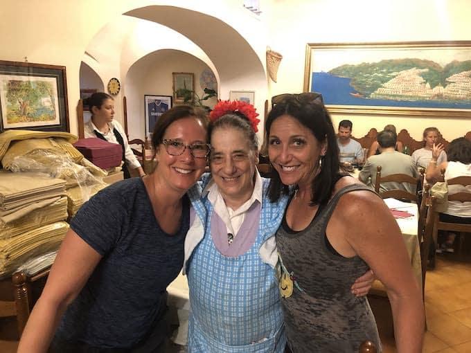 Mama in Ravello