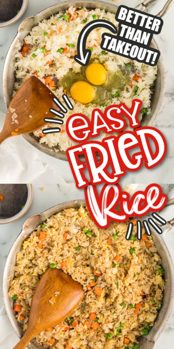 Easy Fried Rice Pinterest