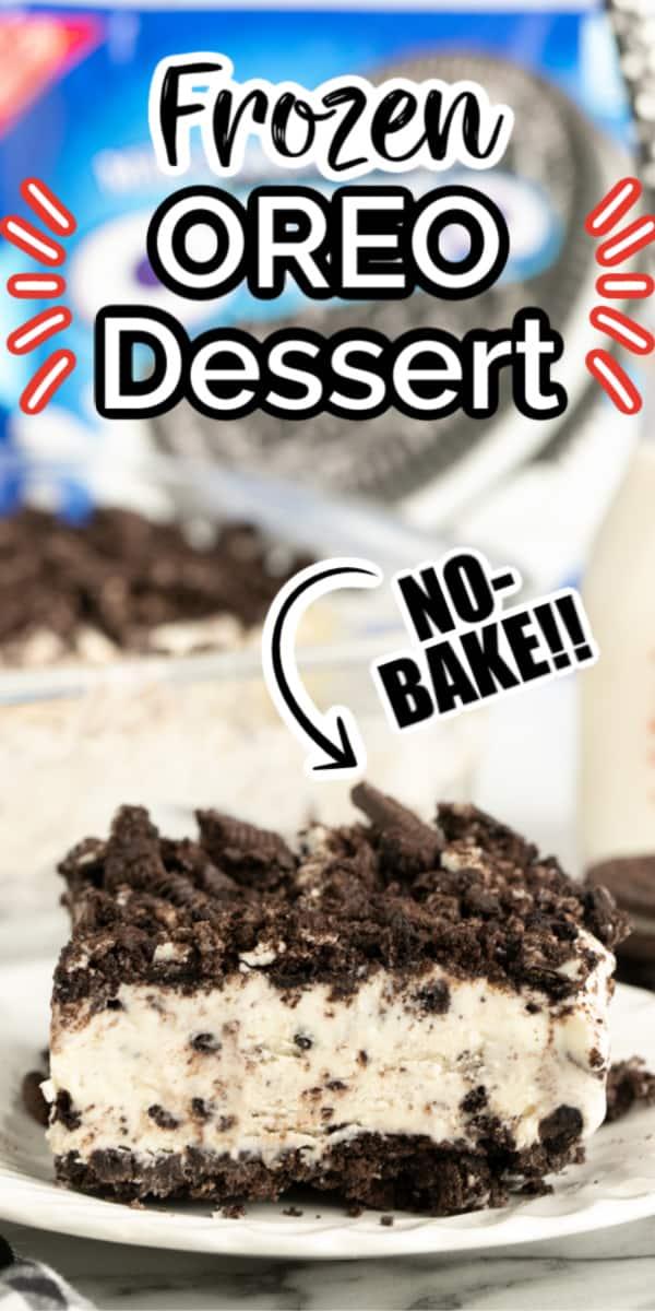 No-Bake Oreo Dessert