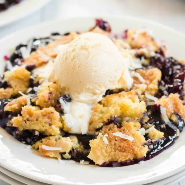 Blueberry Dump Cake square