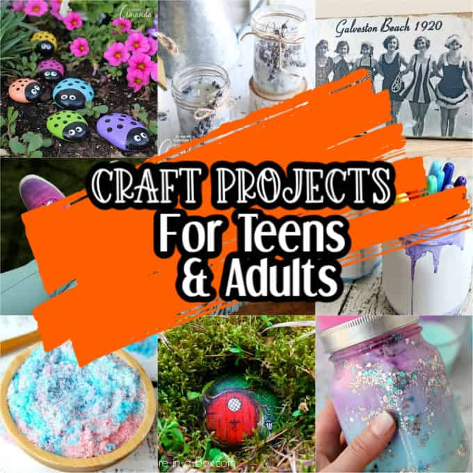 Craft Projects for Teens hero