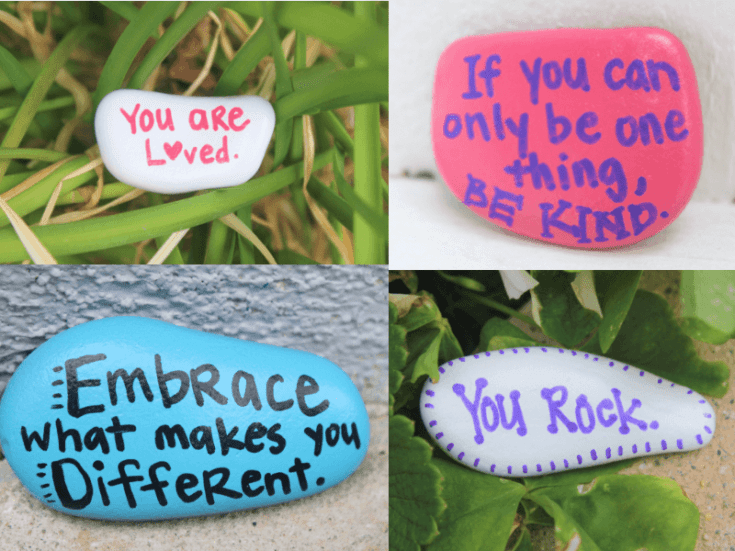 How to Make Kindness Rocks to Spread Happiness