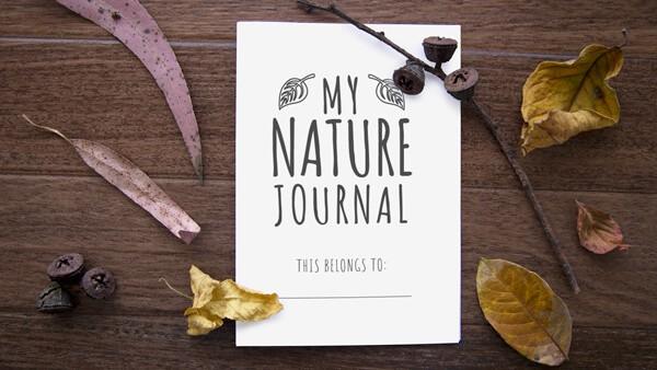 Printable Nature Journal for Kids