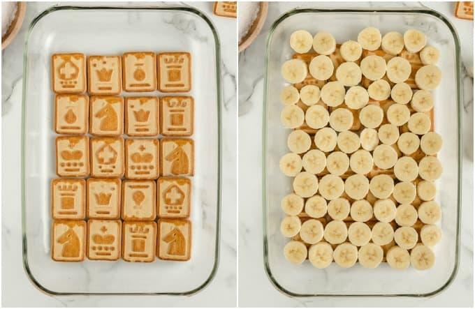 How to make Banana Chessman Pudding