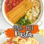 One-Pot Pasta Pinterest