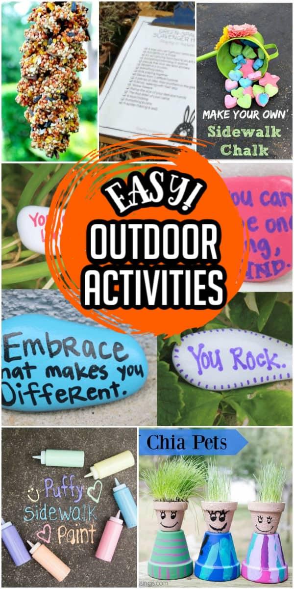 Outdoor Activities Pinterest