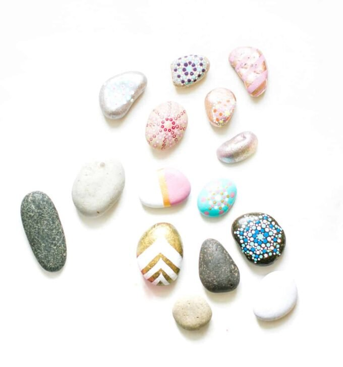 Painted Rocks by Giltter Inc. | Crafts Ideas for Teens