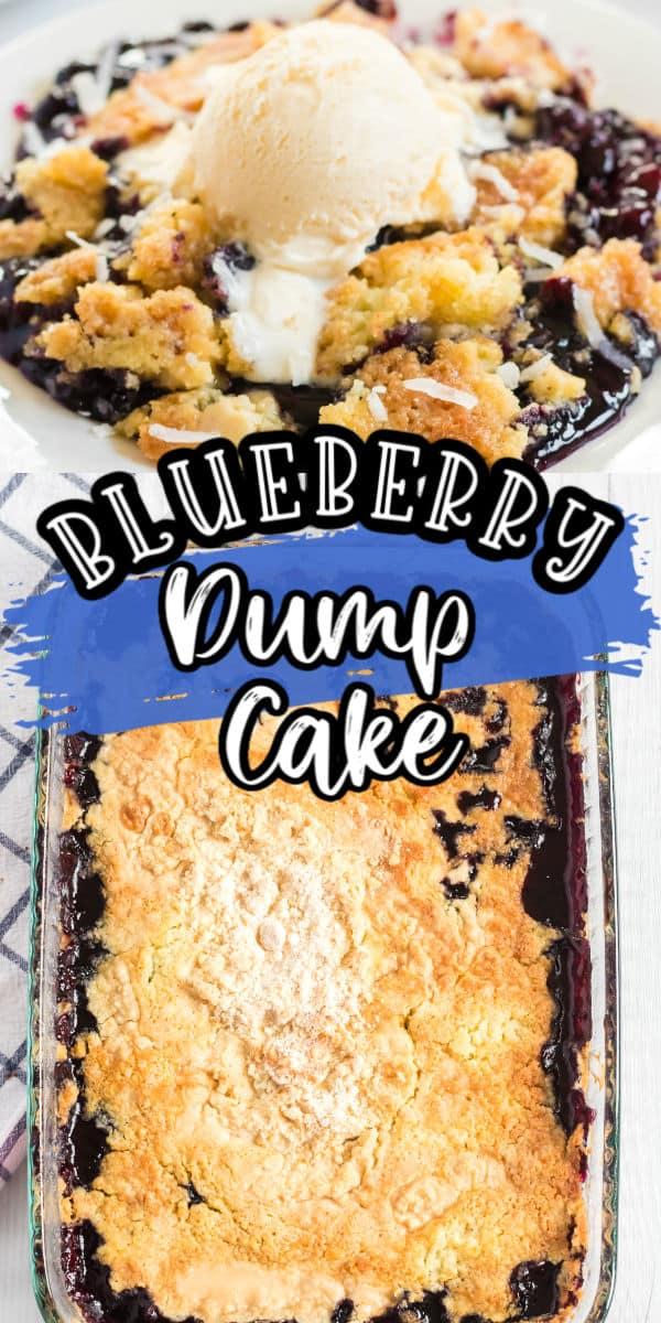 Blueberry Dump Cake Pinterest
