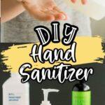 Pinterest 600 x 1200 - DIY Hand Sanitizer