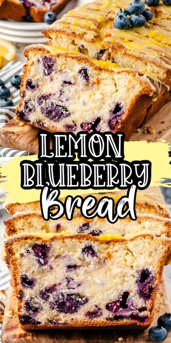 Lemon Blueberry Bread - Ready in an Hour!