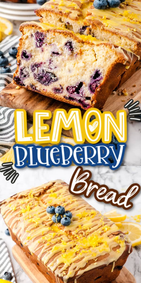 Lemon Blueberry Bread Pinterest