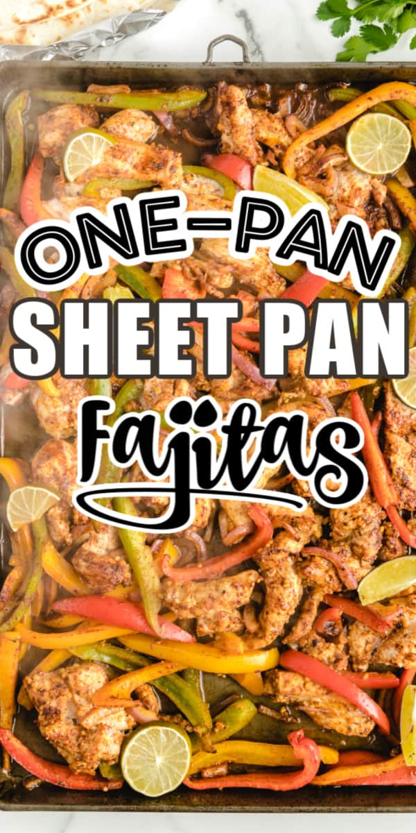 Sheet Pan Fajitas Pinterest