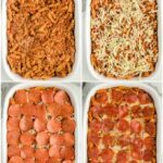 Pizza Casserole layers