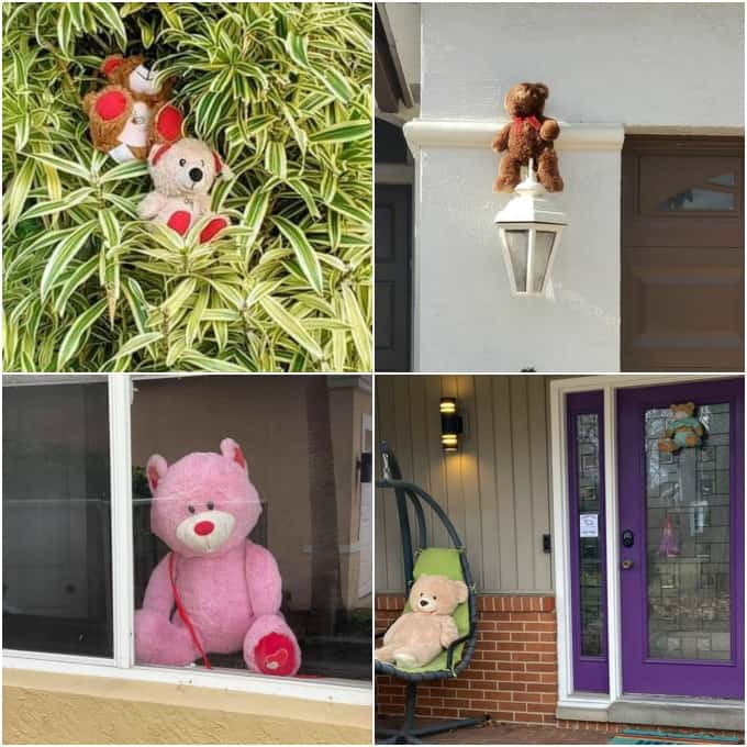 Teddy Bear Scavenger Hunt Ideas