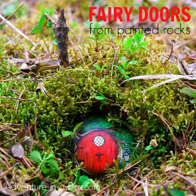 DIY Fairy Doors from Rocks