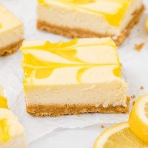 lemon cheese cake featured image