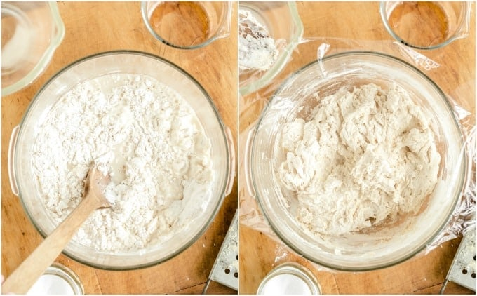 How to make No-Knead Bread step 1