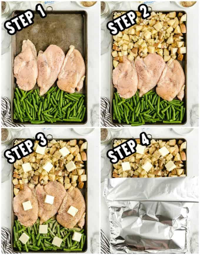 How to make sheet pan chicken