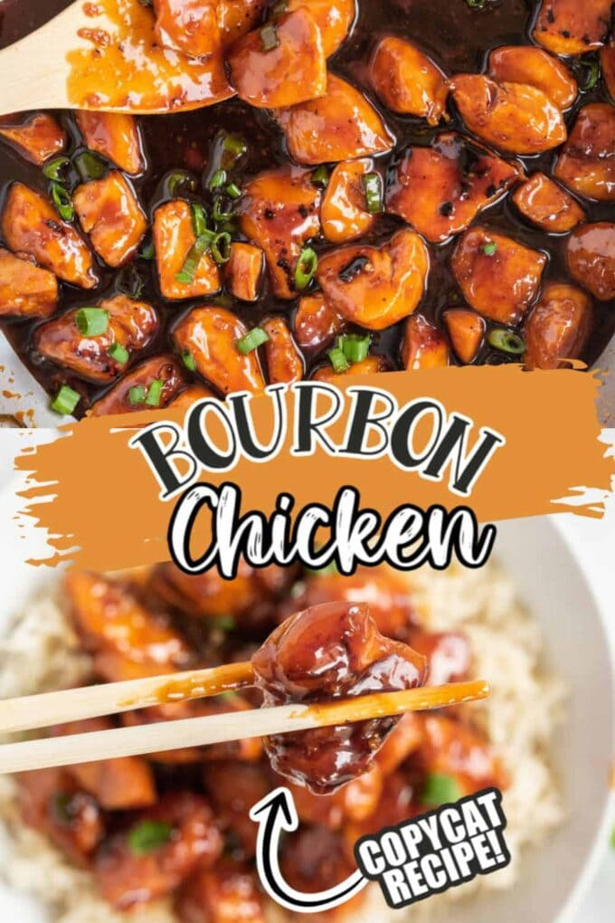 Bourbon Chicken Pinterest