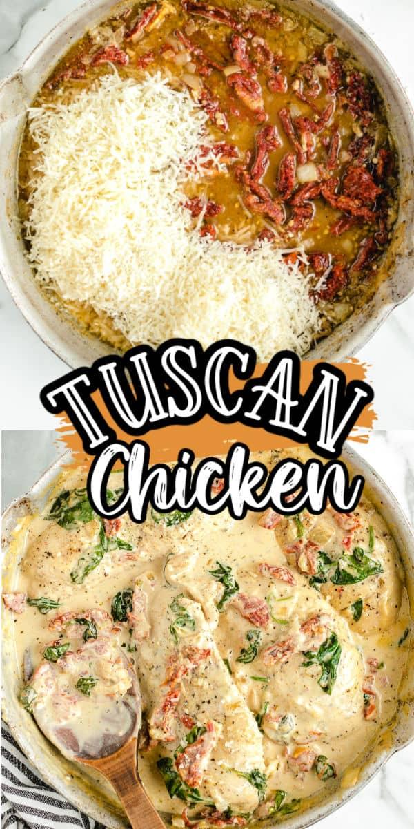 Tuscan Chicken Hero square