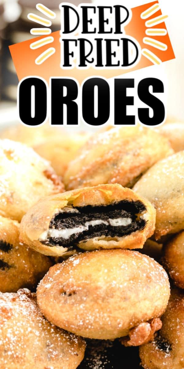 Pinterest Deep Fried Oreos