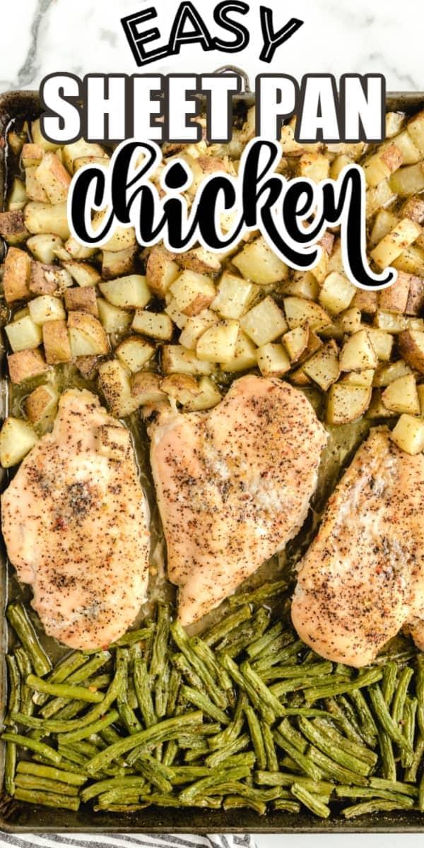sheet pan chicken