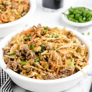 eggroll in a bowl featured image