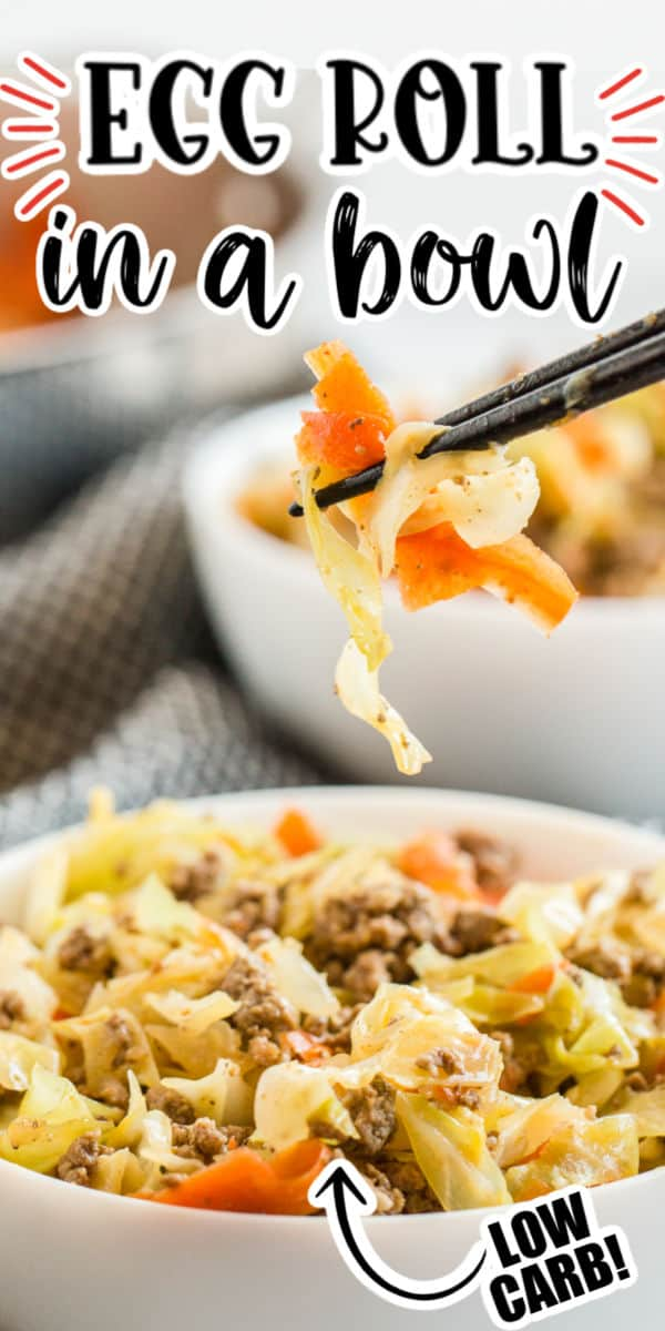 Egg Roll in a Bowl Pinterest