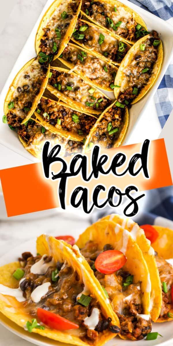 Oven Baked Tacos pinterest