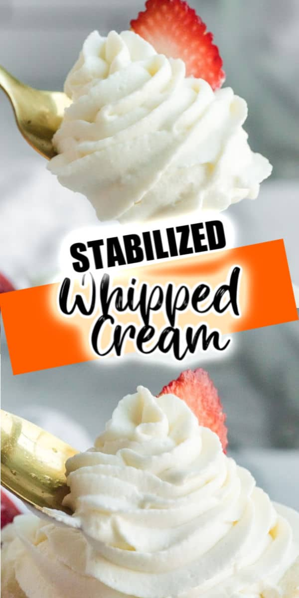 whipped cream pinterest image