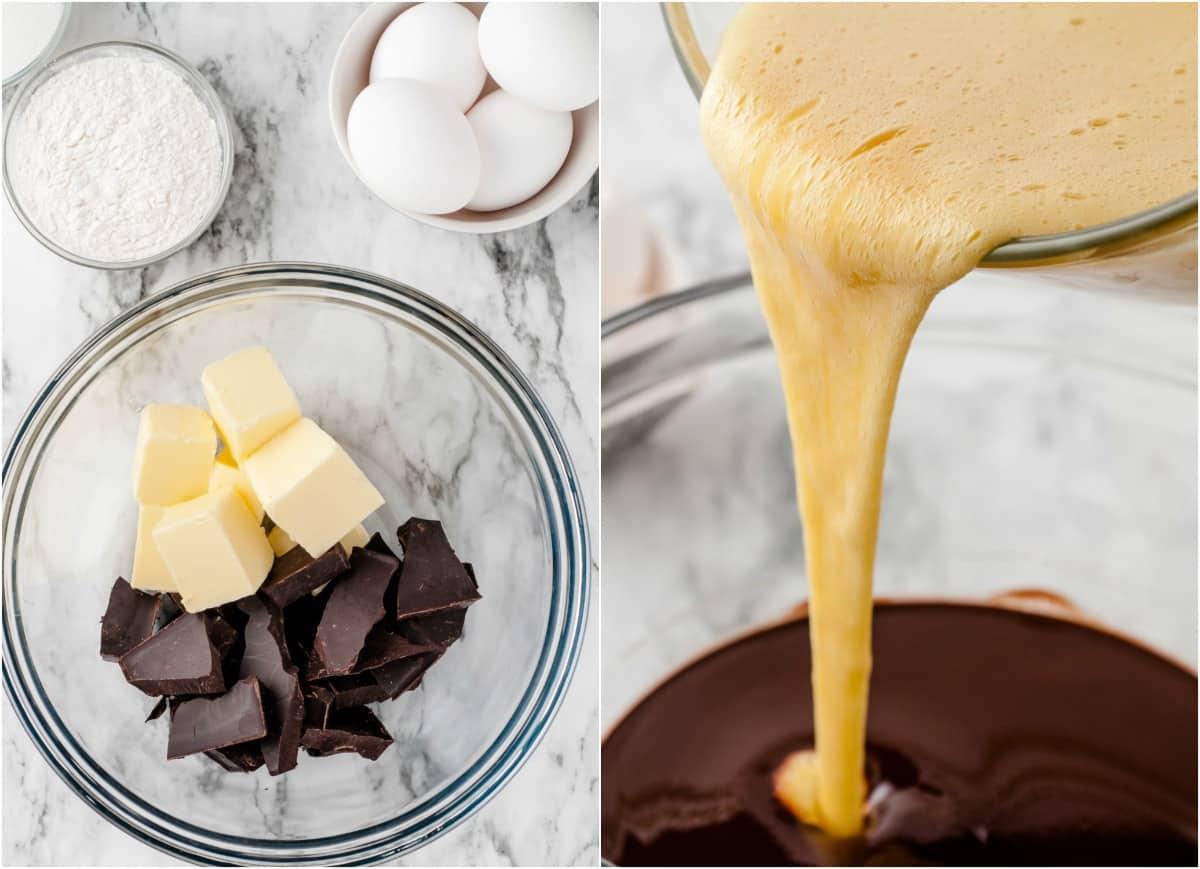 Chocolate Melting Cake steps 1