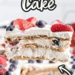 Berry Icebox Cake Pinterest